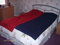 two single air beds