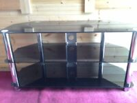 3 Tier Glass TV Stand - BUY BEFORE LOCKDOWN