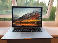 "Apple MacBook Pro, 15"" Retina Display, high spec"