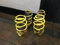 Lowering springs mk5 golf, Jetta, Leon and a3