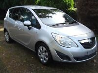 2011 Vauxhall Meriva 1.4 Exclusiv - New Model with 1 Year Mot