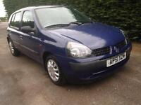 2001 Renault Clio 1.2 Manual Petrol Service History 9 Months MOT
