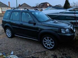 Land Rover freelander automatic