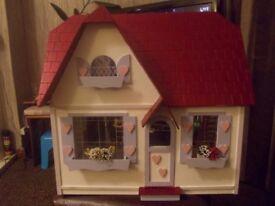dolls house sweet heart cottage unfurnished