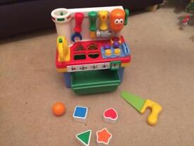 Tool station- baby toddler toy