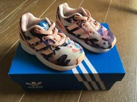 Girls Adidas trainers toddler size 4