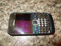 mobile phone Nokia E63 unlocked
