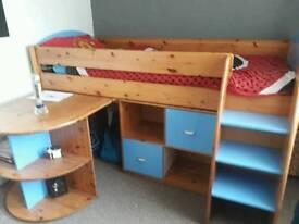 Cabin bed/ mid sleeper