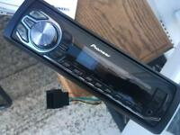 Pioneer car stereo usb radio and aux inputs been a great stereo