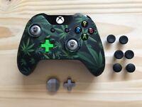 Customised WEED design Xbox One Controller