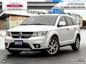 2015 Dodge Journey R/T-AWD7 Pass- Heated Leather Seats
