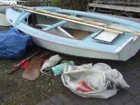 Wayfarer sailing dinghy boat project