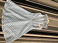 Pale blue dress by quiz