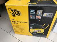 JCB 24L AIR COMPRESSOR BRAND NEW