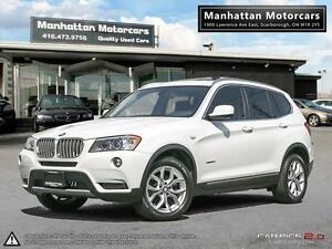 2013 BMW X3 28i X-DRIVE |PANORAMIC|BLUETOOTH|1 OWNER|NO ACCIDENT
