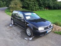 VW Golf MK4 IV 1.9 GT-TDI (PD 150) Black 3 Door Low mileage Lovely Example. Diesel Manual