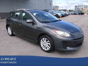 2012 MAZDA 3 Sport GS-SKY AUTOMATIQUE BLUETOOTH