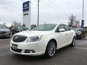 2014 Buick Verano Navigation, leather, sunroof
