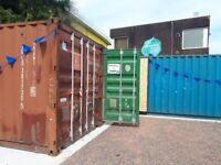 Cardiff Containers: Creative workspace in central Cardiff 5 mins from station