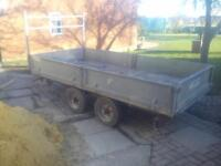 10 X 5 tipping trailer