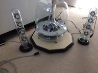Harma Korada sound sticks and speaker