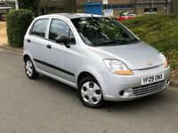 2009 Chevrolet MATIZ 12 MONTHS MOT ONLY 59000 MILES CHEAP TAX