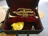 B&H 400 made for Boosey & Hawkes Cornet
