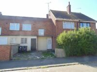 3 Bed Terrace House, large garden, Ideal First Time Buyers Property, in need of some Refurbishment