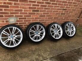 Bmw mv3 alloys from a Bmw 320d touring