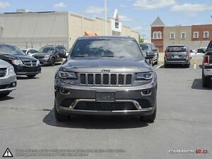 2015 Jeep Grand Cherokee OVERLAND   DIESEL   4X4   FULLY LOADED  Cambridge Kitchener Area image 2