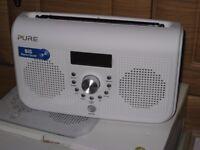 NEW PURE ELITE SERIES 2 DAB RADIO IN BLACK £80 OR WHITE £85 REWIND LIVE RADIO