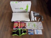 Nintendo Wii With Fit Board