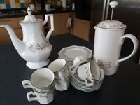 Eternal Beau Coffee set and Cafetiere
