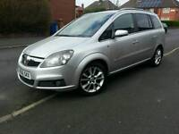Vauxhall Zafira 1.9cdti desil desine half leather 7setar Low Millage 07481708464