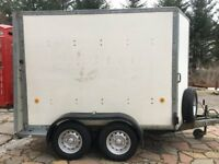 Ifor Williams Box Trailer 2700kgs 8x6x4 Front Doors and Rear Ramp & Doors