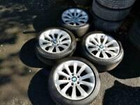 BMW 17 INCH ALLOY WHEELS WILL FIT VIVARO TRAFFIC PRIMASTAR