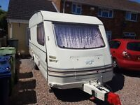 5 berth caravan with awning and extras 95/95 including solar panel and extras