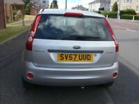 2007 Ford Fiesta Petrol 1.2 FULL YEAR MOT Excelent Condition Throughout Ideal First Car Great Runner