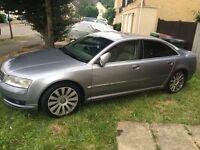 Audi A8 2004(53) fully loaded