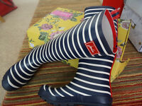Brand New In Box, Joules Wellies, Size 6