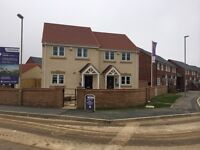 Furnished 2 Bed Semi Detached Show House with Garden and Garage - Brand New