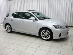 2011 Lexus CT 200h HYBRID 5DR HATCH WITH PUSH BUTTON START, BACK