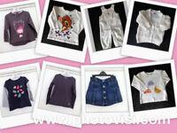 Girls size 12-18 months various clothes bundle - 8 items