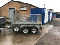 Ifor Williams gd84 fully caged trailer