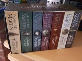 A Song of Ice & Fire (Game of Thrones) Book set