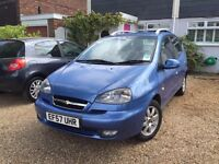 Chevrolet Tacma 2007 MPV 1998cc Automatic Spacious family car or work vehicle Just Fully Serviced