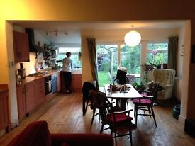 Furnished room with en-suite to rent in friendly house, couples welcome