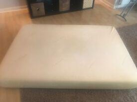 Memory foam double mattress