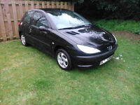2001 Peugeot 206 LX 3DR 97, 100 miles used locally by DR