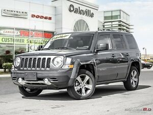 2017 Jeep Patriot HIGH ALTITUDE | HEATED LEATHER | NAVI | SUNROO